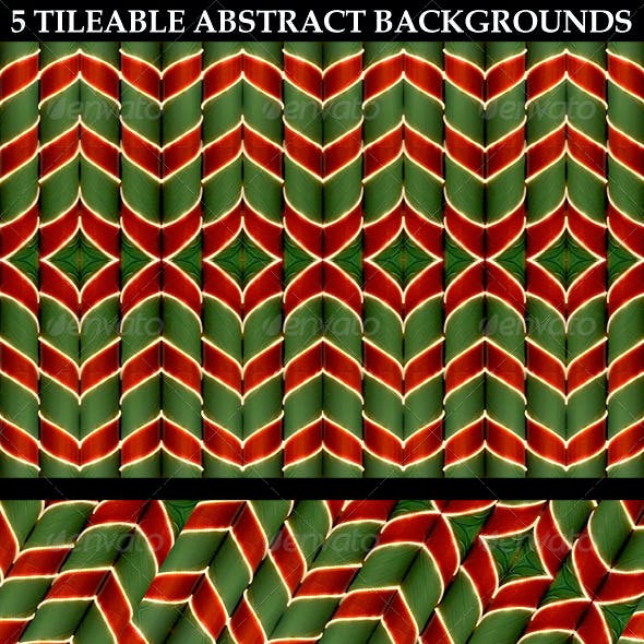 5 Tileable Abstract Backgrounds