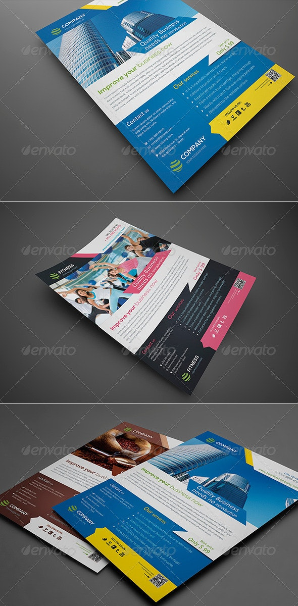 Clean and Smart - Corporate Flyers