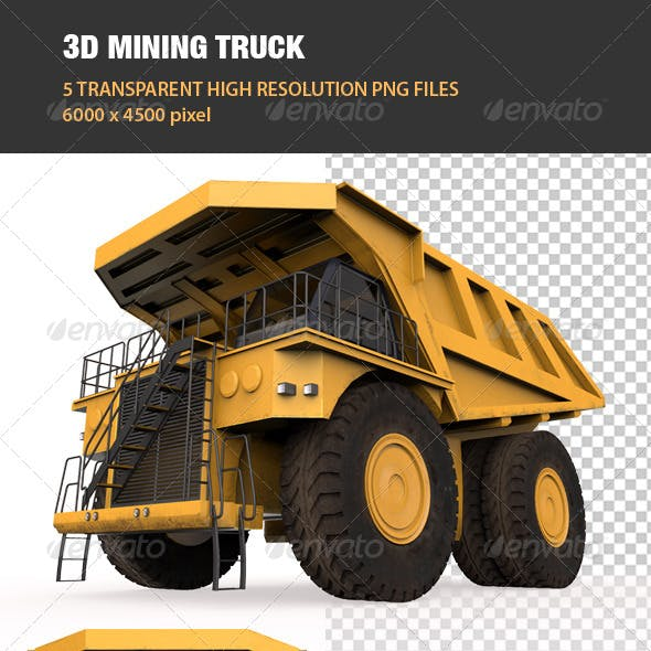 3D Mining Truck