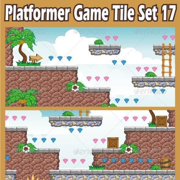 Platformer Game Tile Set 17