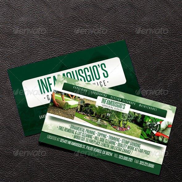 Gardening Business Card 4