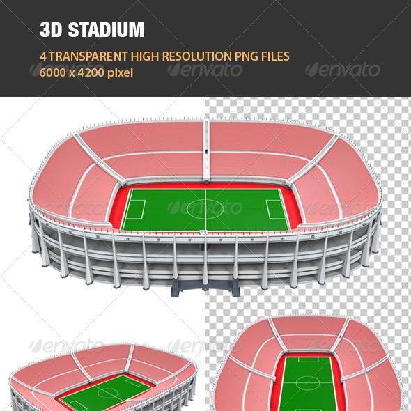 3D Stadium Building