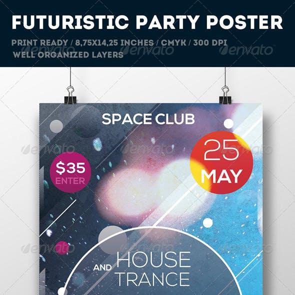 Futuristic Poster Template