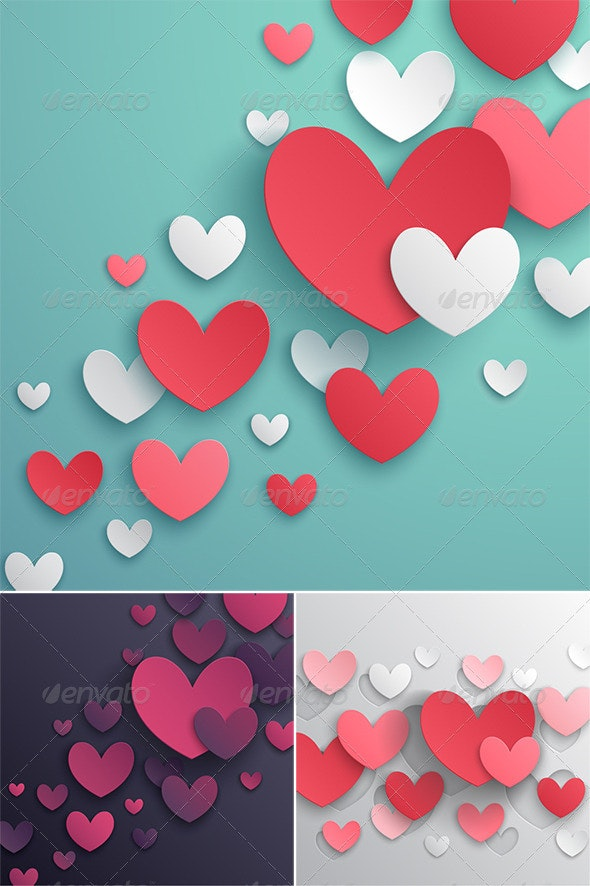 Valentines Day Abstract Backgrounds - Valentines Seasons/Holidays