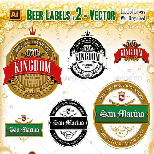 Beer Labels V.2