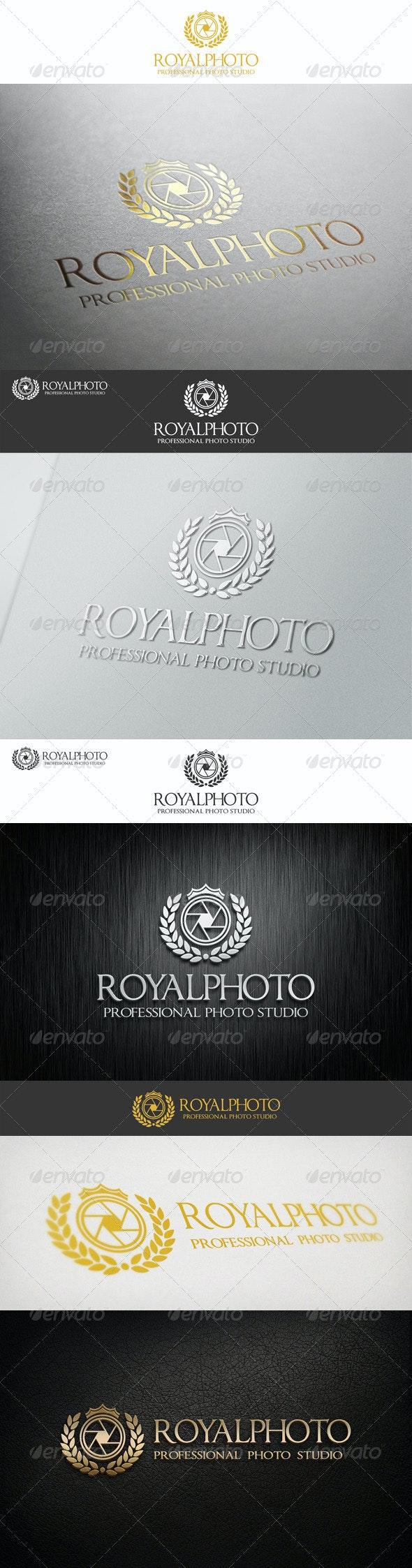 Royal Photo Professional Studio Logo - Crests Logo Templates