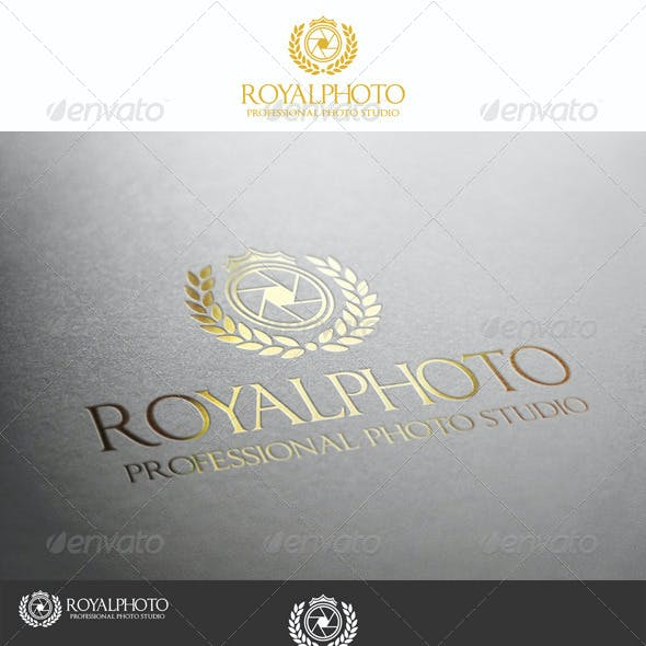 Royal Photo Professional Studio Logo