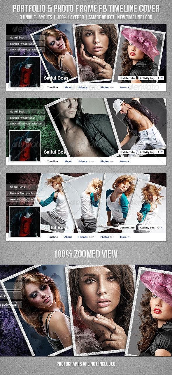 Portfolio & Photo Frame Facebook Timeline Cover - Facebook Timeline Covers Social Media