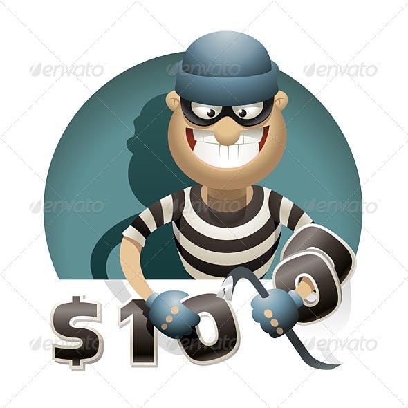 Theft Money