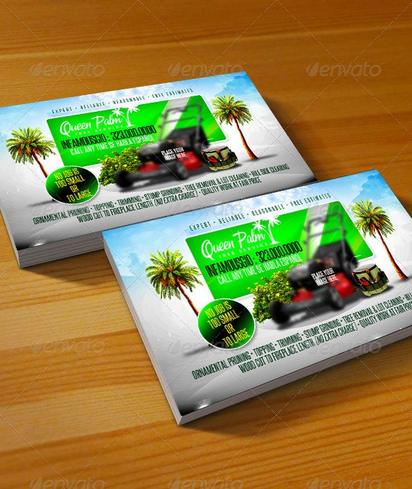 Gardening Business Card 2 - Business Cards Print Templates