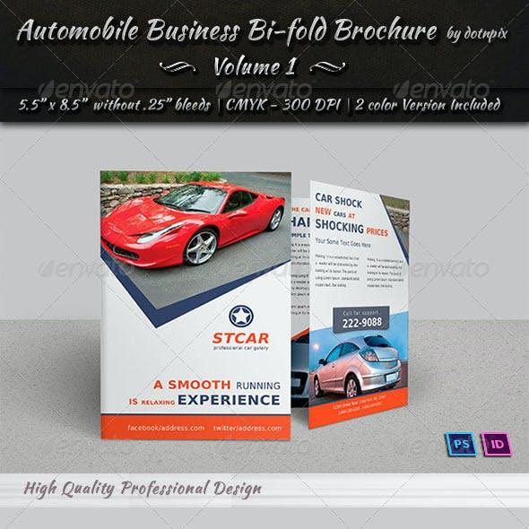 Automobile Business Bi-Fold Brochure | Volume 1