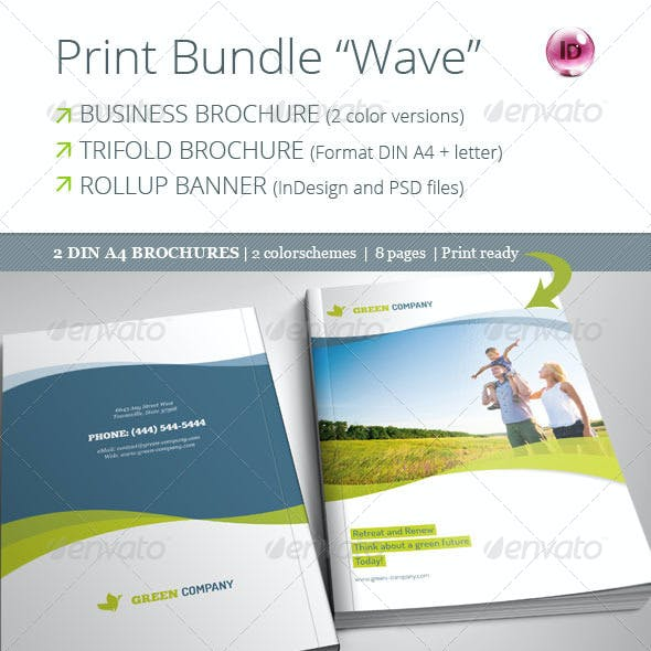 "Print Bundle ""Wave"""