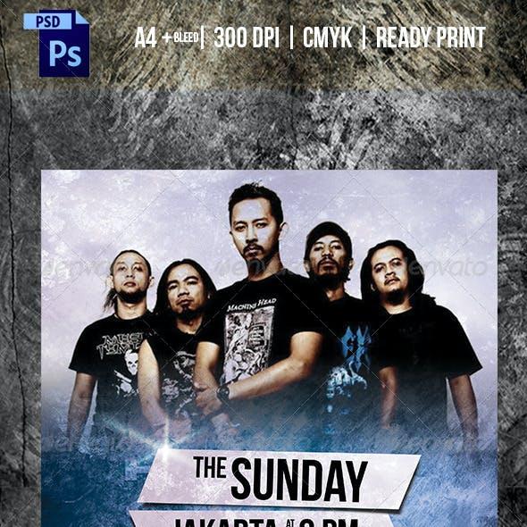 Simple Rock Concert Flyer