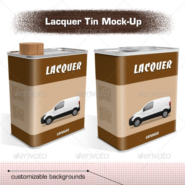 Lacquer Tin Mock-Up