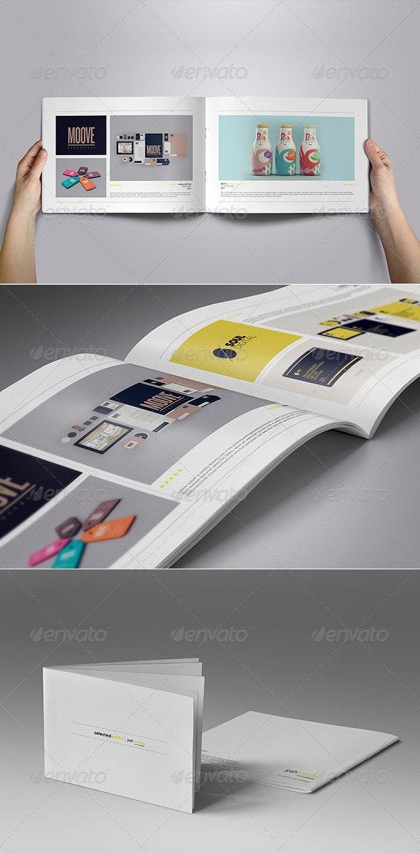 Minimal Portfolio Vol. 01 - Portfolio Brochures