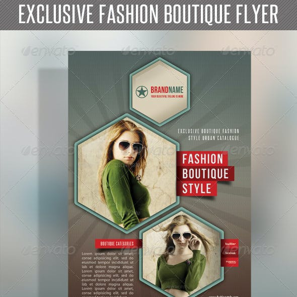 Fashion Product Flyer 36