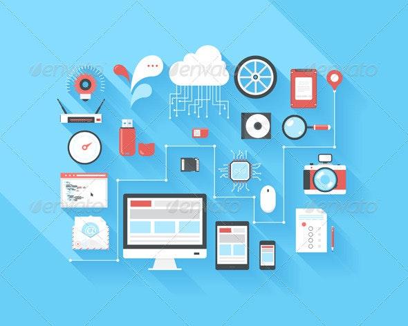 Big Data - Technology Icons
