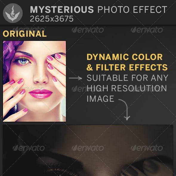 Mysterious Photo Effect Template