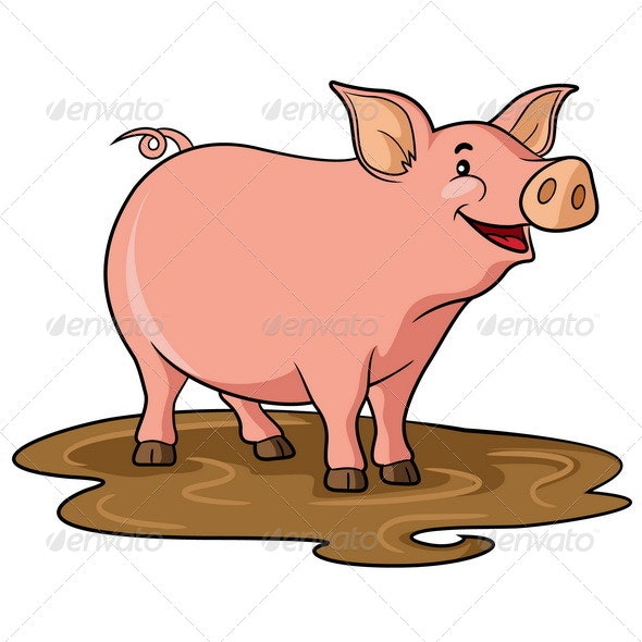 Cartoon Pig Pictures