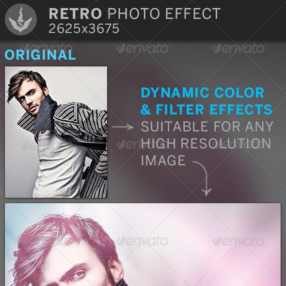 Misty Photo Effect Template