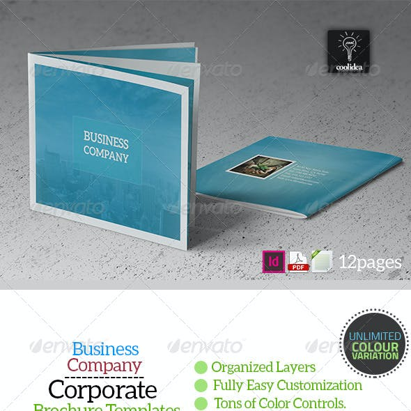 Business Plan - 12 Pages Business Brochure