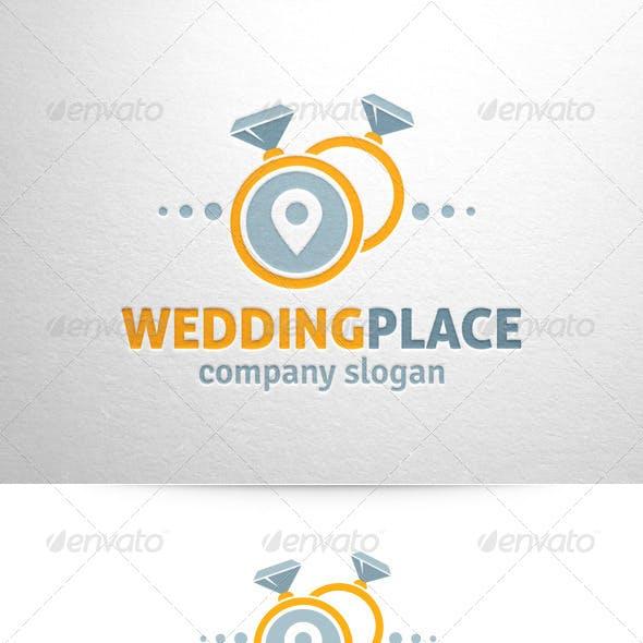 Wedding Place Logo Template