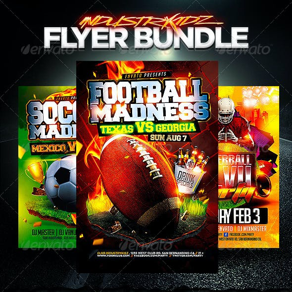 Sport Flyer Template Bundle v2