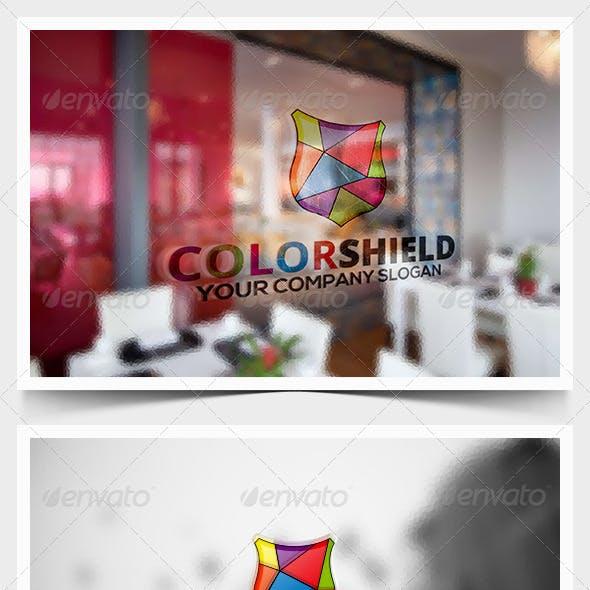 Color Shield Logo Template