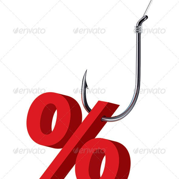Percent Sign on the Hook
