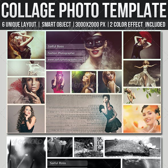 Collage Photo Templates