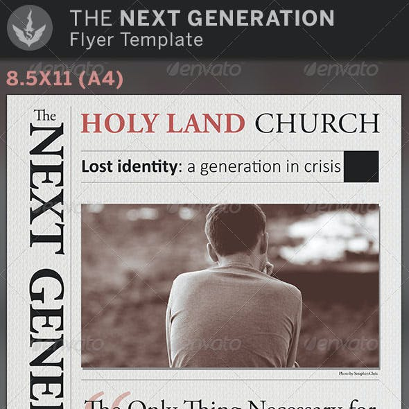 The Next Generation: Church Flyer Template