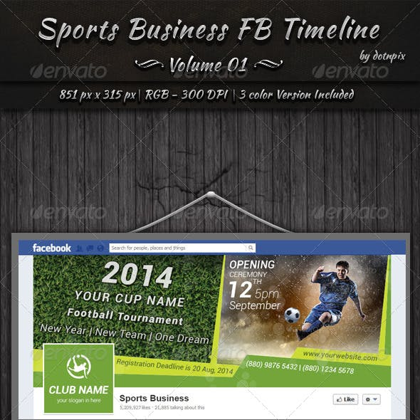Sports Business FB Timeline | Volume 1