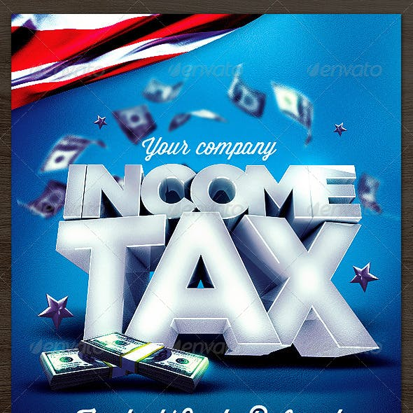 Income Tax Flyer Template