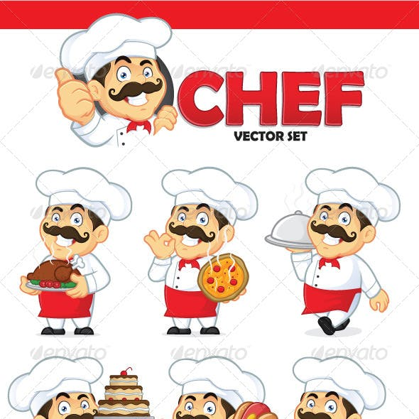 Chef Vector Set