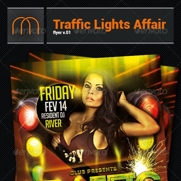 Traffic Lights Affair v01 - Flyer