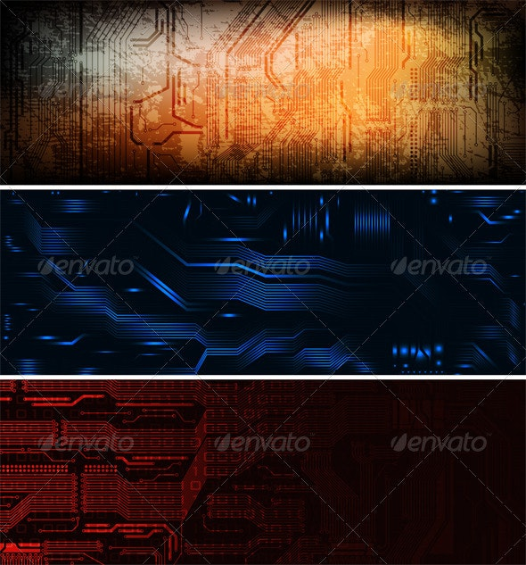 banners - Technology Conceptual