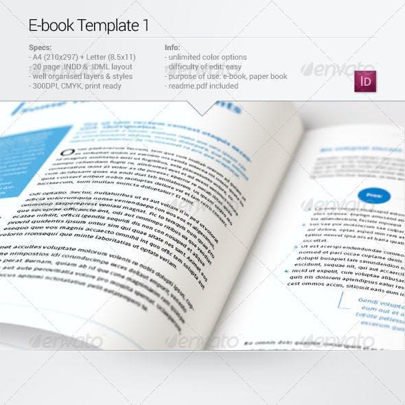 E-book Template 1