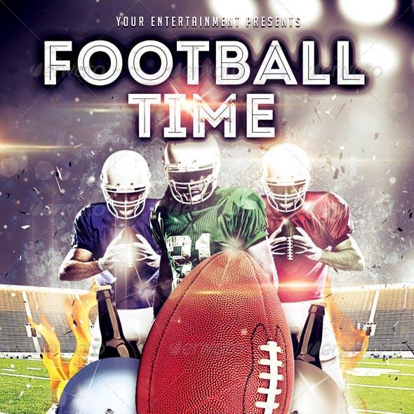 Football Time Flyer