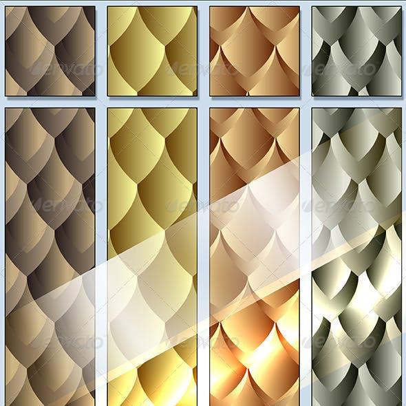 Seamless Dragon Skin Pattern