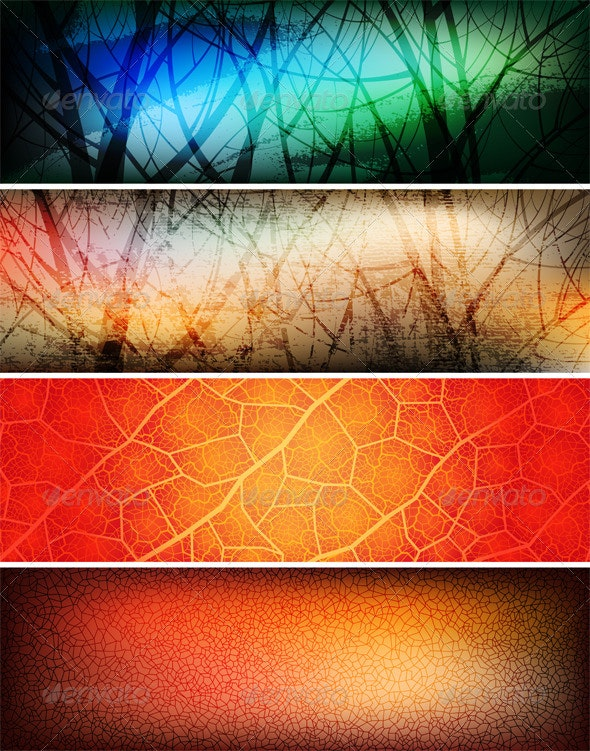 Banners - Backgrounds Decorative