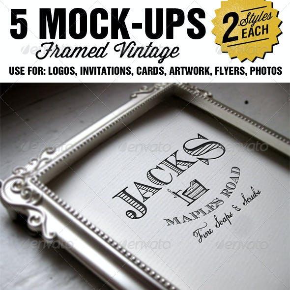 Framed Mockup