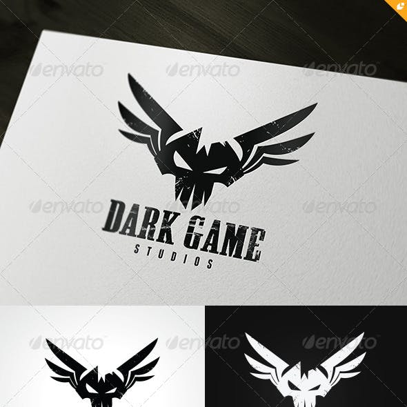 Dark Game Logo