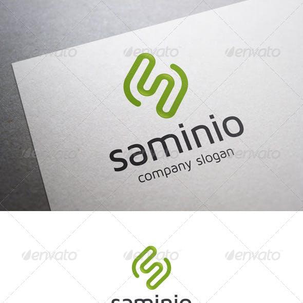 Saminio S Letter Logo