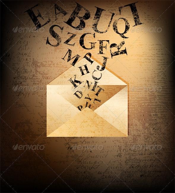 Letter - Backgrounds Decorative