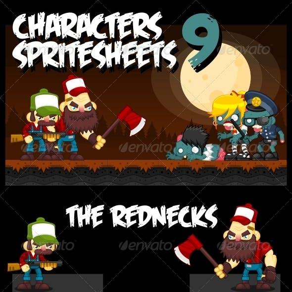 Characters Spritesheet 9