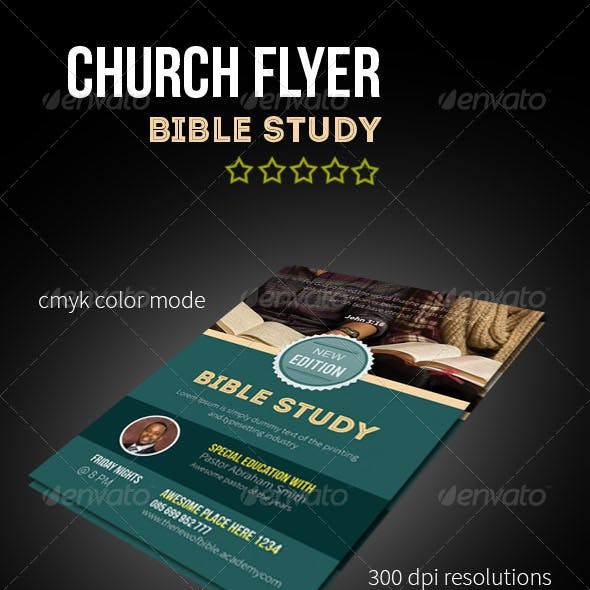 Church Bible Study Flyers