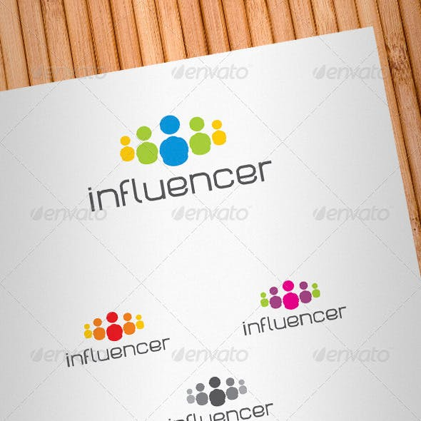 Social Media Influencer Logo Template