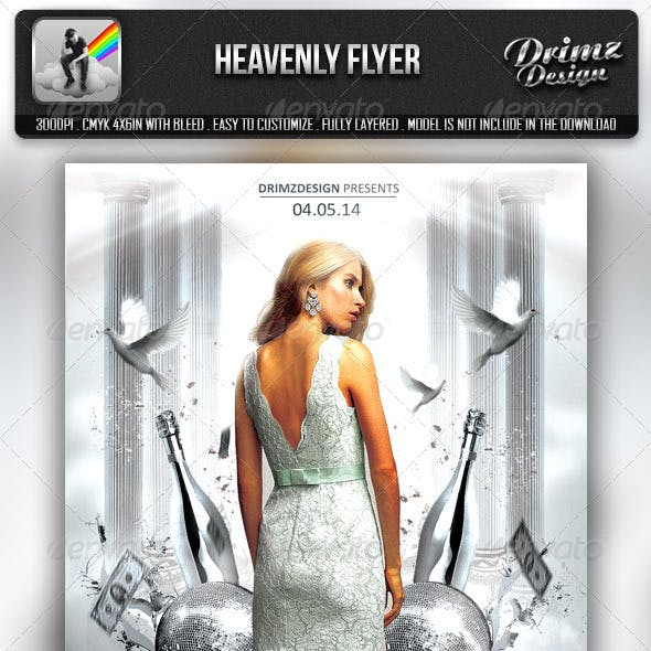 Heavenly Party Flyer