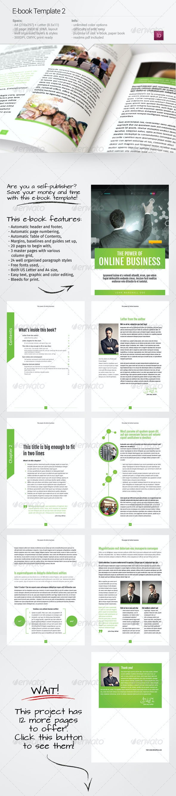 E-book Template 2 - Digital Books ePublishing