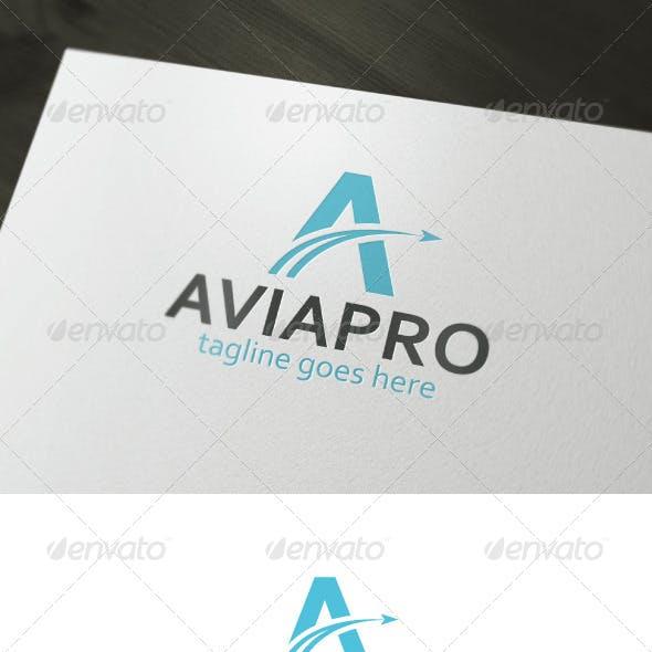 Avia Pro Logo — Letter A